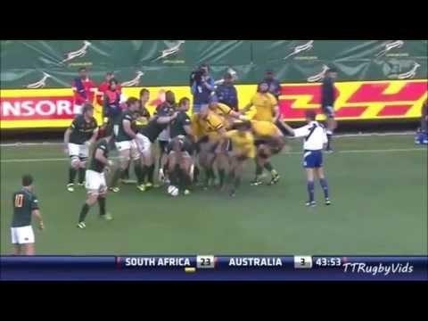 Fourie du Preez vs Australia
