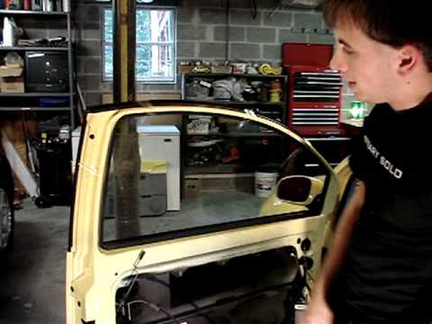 Volkswagen New Beetle window regulator repair - PART 1 of 2 Video