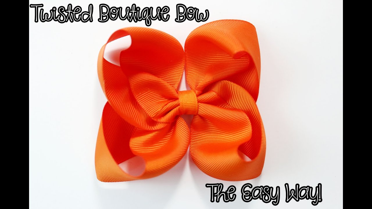 Twisted Boutique Bow Tutorial