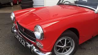 1972 MG Midget RWA