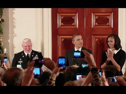 Hanukkah at the White House 2012