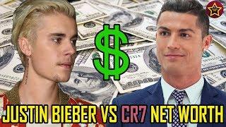 JUSTIN BIEBER vs CRISTIANO RONALDO   Net Worth 2017