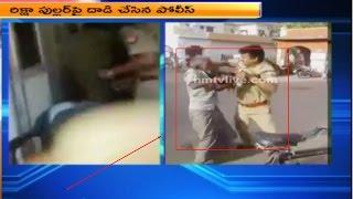 Constable Brutally Beats Old Man on Road | Uttar Pradesh
