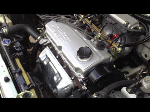 Video 2: Restoration Engine Bay Proton Wira 1.6 Oleh Motec Mat