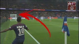 Neymar fez um gol jamais visto na França !