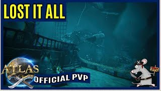 ATLAS Official PVP - Lost 3 Ships! Now What?