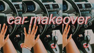 PINTEREST MAKEOVER for my car??