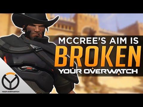 Overwatch: McCree Is BROKEN! - AIM BUG