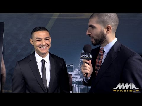 UFC on FOX 15: Cub Swanson Found Out About Fight on TV