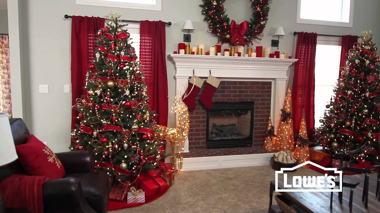Christmas decorating tips lowe 39 s creative ideas youtube for Christmas decorations for home interior
