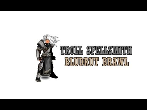 AQWorlds: Troll Spellsmith class Bludrut Brawl plus enhancements