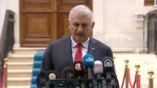 Başbakan Yıldırım: ''Kuzey Irak'a Uçuşlar Süresiz İptal Edilmiştir''
