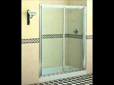 C mo limpiar la puerta de vidrio de una ducha youtube - Como montar mampara de ducha ...