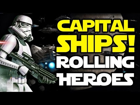 Star Wars Battlefront News: Rolling, Capital Ships, Pilot Hero, 7vs7 Heroes vs Villains & DLC Info