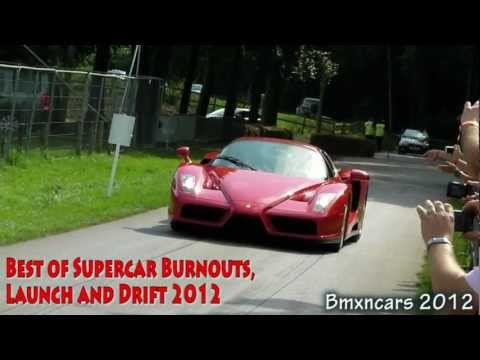 Best Supercar Burnouts + Launch Controls 2012