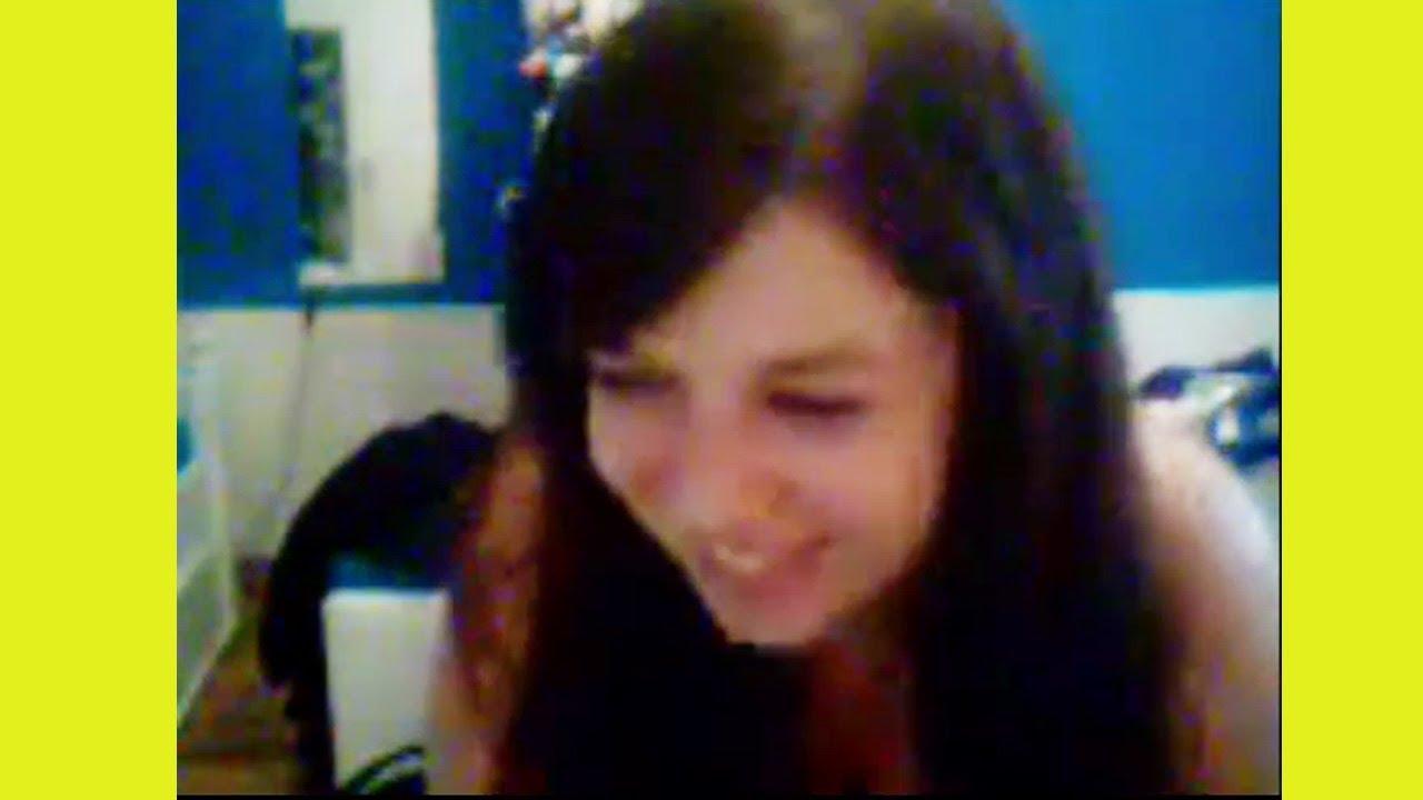 Cute Girl On Webcam (Skype Chat) - YouTube