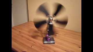 Candle Power Fan