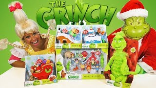 The Grinch Toy Challenge ! || Toy Review || Konas2002