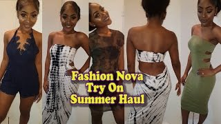 FASHION NOVA Try On Summer Haul | PETITE-SUE DIVINITII