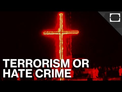 Hate Crime vs. Terrorism: What's The Difference?