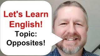 English Lesson - Opposites
