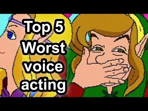 Top 5 - Worst Voice Acting In Gaming video