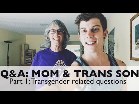 Q&a: Mom & Transgender Son video