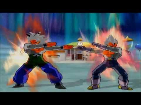 Dragon Ball Budokai Af Gogeta (ssj5) Fusão video