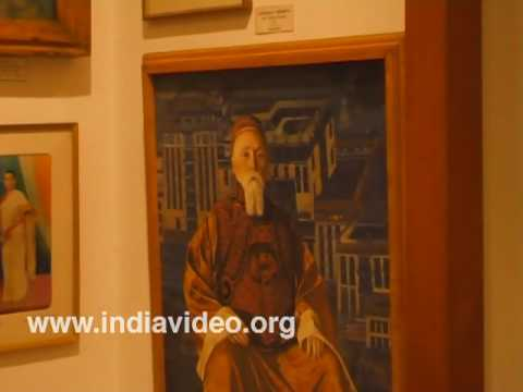 Paintings at Nicholas Roerich Museum