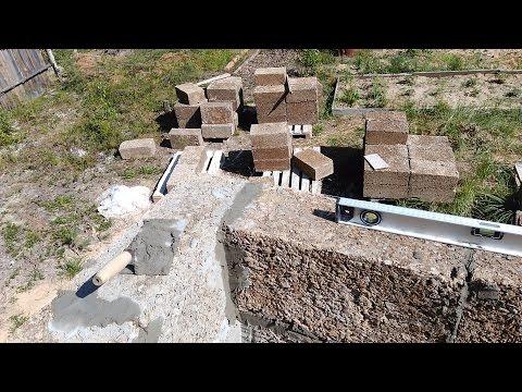 Дом из опилкобетона своими руками - как построить дом 13