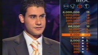 Wassim Taha - Who Wants to be a Millionaire 2 MBC - lbci - 2006 2 وسيم الطه - من سيربح المليون