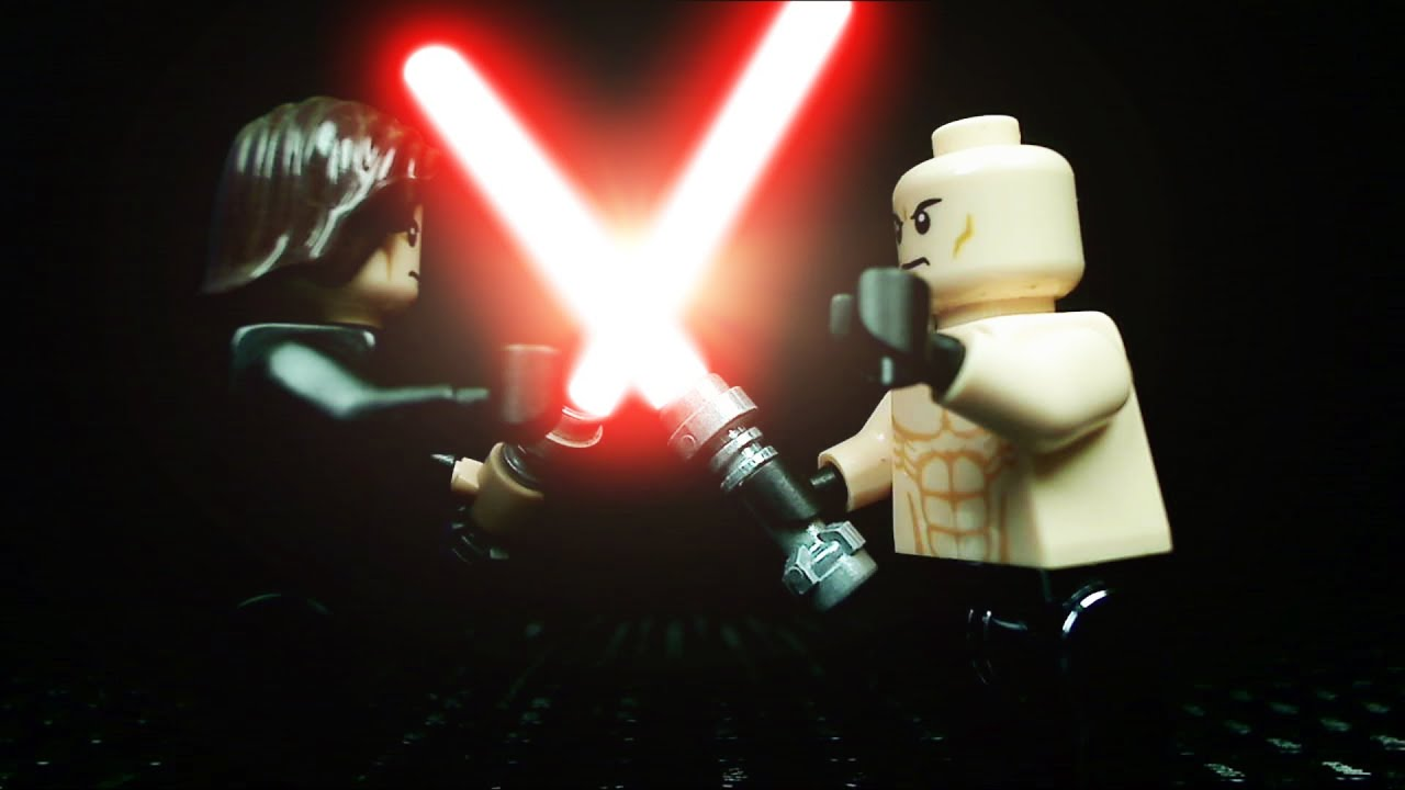 Lego Lightsaber Duel Sith Vs Sith Youtube