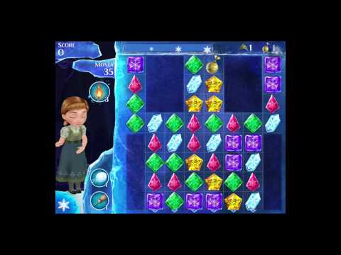 Disney Frozen Free Fall Level 8