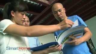 Nhà thông minh Bkav SmartHome tại nhà nhạc sỹ Huy Tuấn