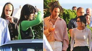 DOUBLE DATE! Kourtney Kardashian And Boyfriend Luka Sabbat Dine With Kendall And Anwar In Malibu