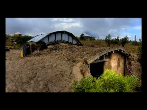 An Earthbag House Time Lapse YouTube