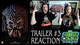 """The Predator"" 2018 Final Trailer Reaction - The Horror Show"