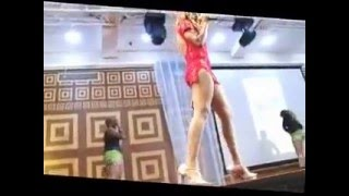 FRENCH GIRL  hot dance @ Nollywood Christmas with the Stars 2015