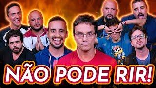 NÃO PODE RIR! com Peter Jordan, Bufão Digital, Matheus Mad, Bruno Romano e Maurício Ozório