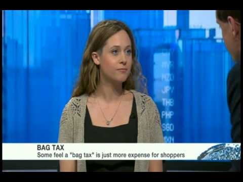 Jessica Shankleman tells BBC world news why supermarkets must prepare for plastic tax