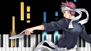 "Shokugeki no Soma Season 4 OP - ""Symbol"" - Piano Tutorial - Food Wars! The Third Plate"