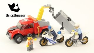 Lego City 60137 Tow Truck Trouble - Lego Speed Build