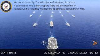 Disastrous collision avoided in Atlantic Ocean between U.S. Navy Fleet and Spanish A 853