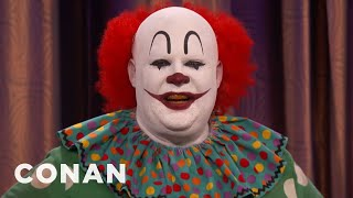 Butterscotch The Clown Isn  T Happy With Quot It Quot   Conan On Tbs