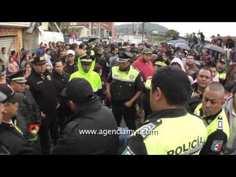 Nuevo intento de linchamiento a dos presuntos delincuentes, ahora en Huixquilucan