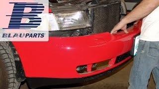 Audi A4 Front Bumper Removal Instructions for 2.8L 30 Valve Engine