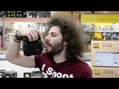 Nikon D4s Unboxing and SNIFF TEST