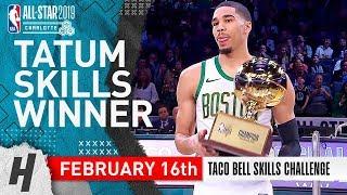 Jayson Tatum Wins 2019 NBA All-Star Skills Challenge - February 16, 2019   Full Highlights