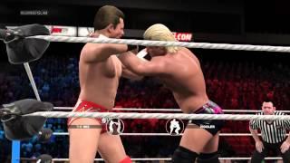 WWE 2K15. The Miz vs Dolph Ziggler. Summerslam 2014. WWE intercontinental Champion