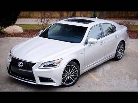 2014 Lexus LS 460 Start Up. Exhaust. Full Review